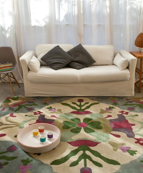 Consejos para elegir una alfombra iii seg n la estancia for De que estan hechas las alfombras
